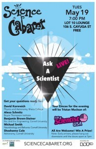 I'm a Scientist Live poster
